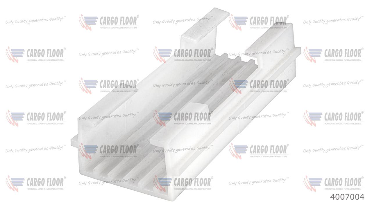 Пластиковый фиксатор-направляющая 50x25 мм арт. CargoFloor 4007004