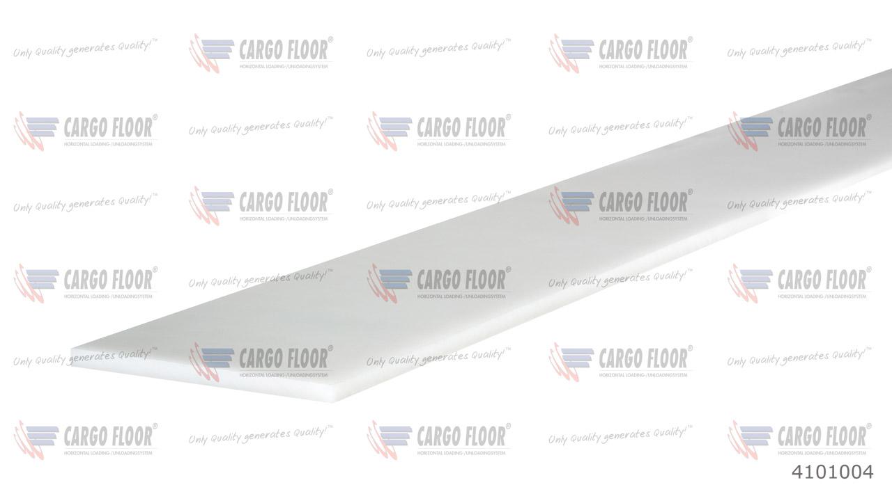 Пластиковая опорная пластина 2500 x 75 x 5 мм арт. CargoFloor 4101004