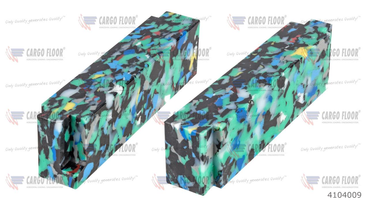 Пластиковый концевой профиль (защитное уплотнение) арт. CargoFloor 4104009