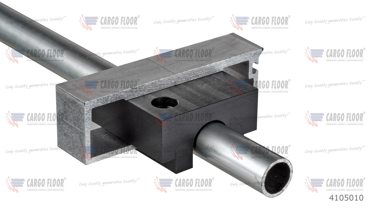 Пластиковый направляющий блок 60x60x32, для трубы Ø =20 мм арт. CargoFloor 4105010