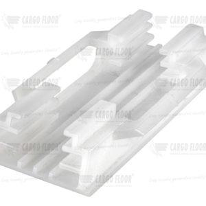 Пластиковый фиксатор-направляющая Cargo Floor (25x25мм, без ног) арт. CargoFloor 4107001.2