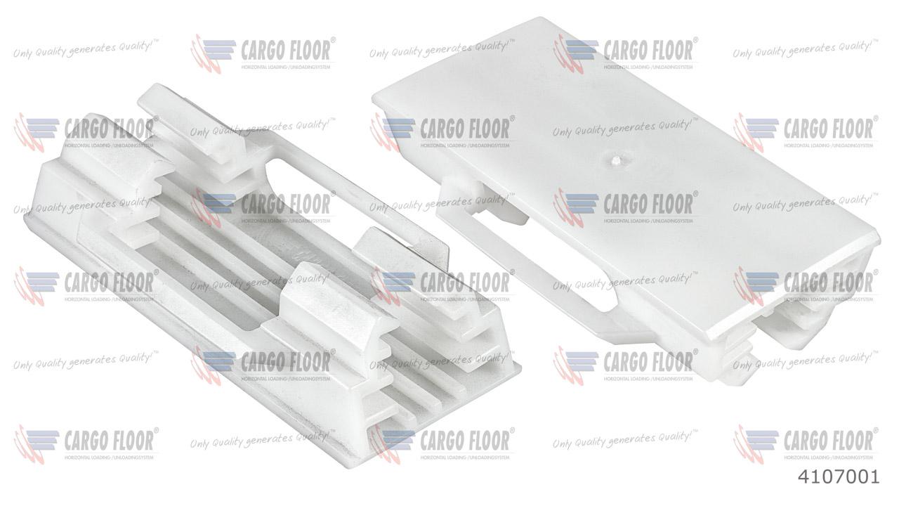 Пластиковый фиксатор-направляющая Cargo Floor (25x25мм) арт. CargoFloor 4107001