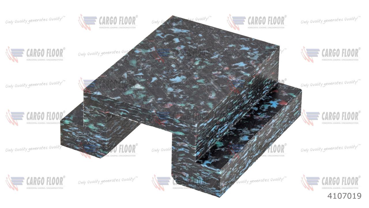 Пластиковый блок анти вспучивания (повышенной прочности) арт. CargoFloor 4107019