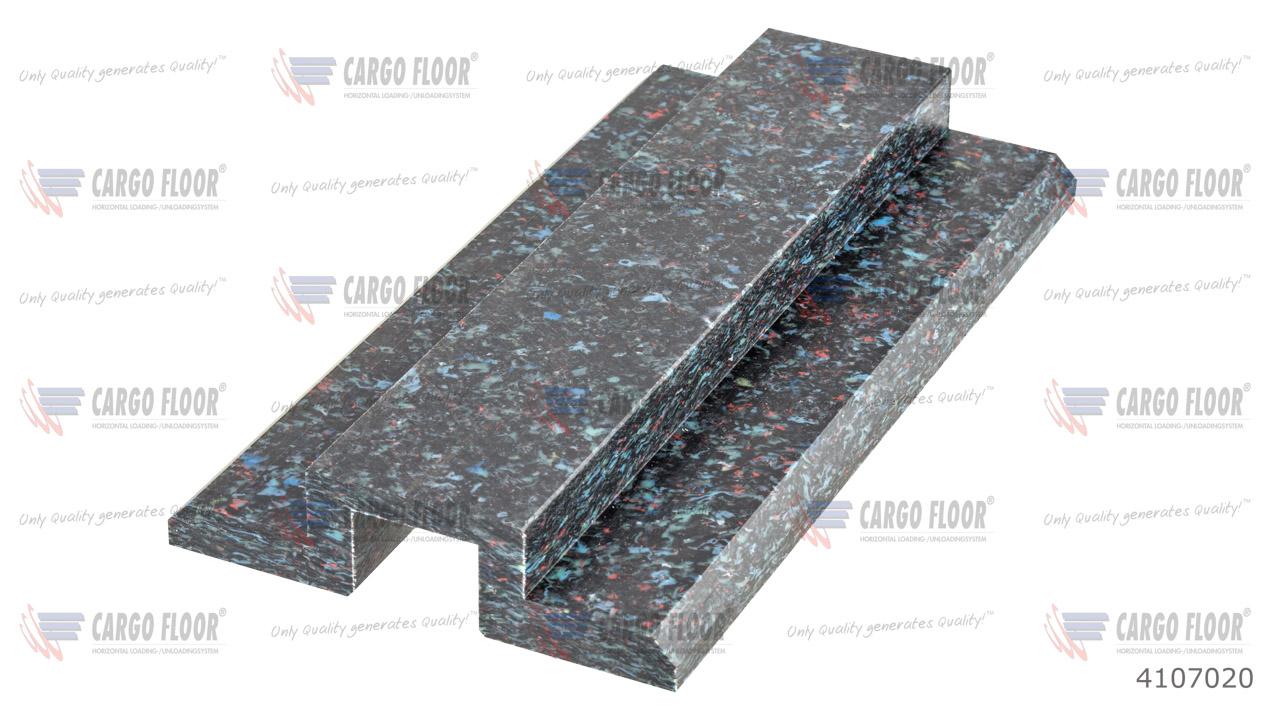 Пластиковый противоподъемный и опорный блок повышенной прочности l=200 мм арт. CargoFloor 4107020