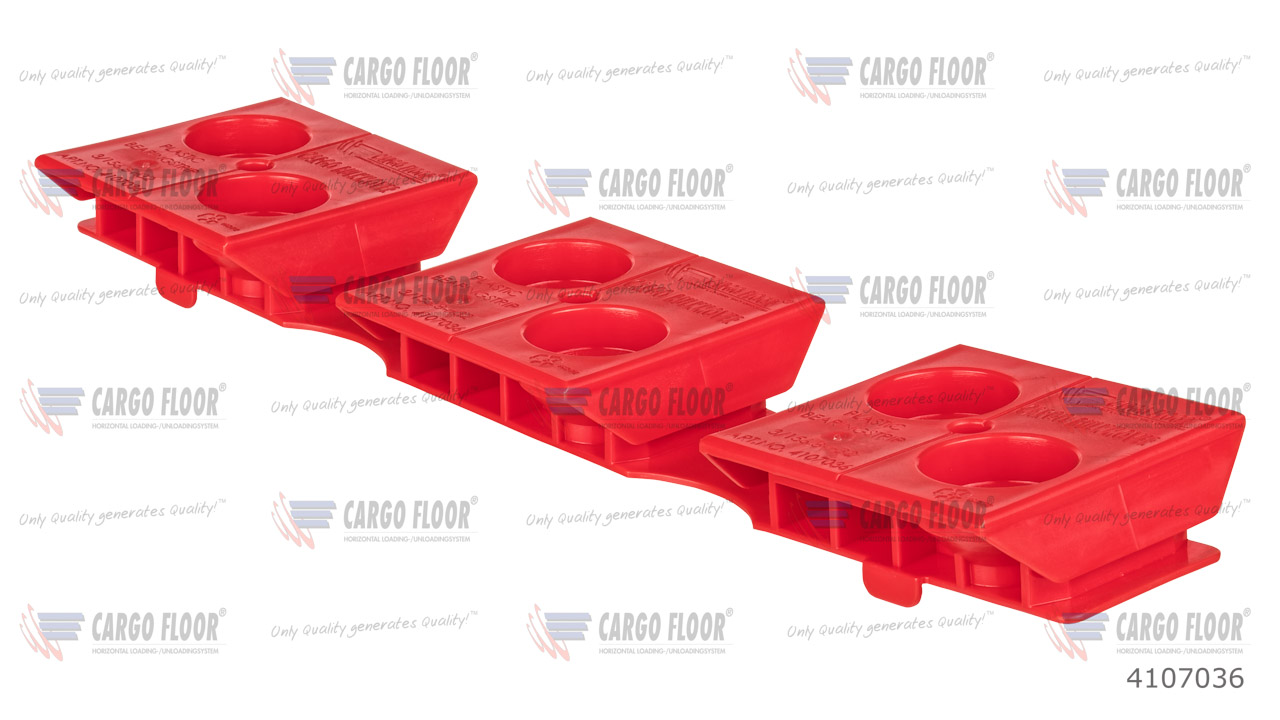 """Пластиковая прокладка из направляющих """"Cargo Bulkmover"""" 3/156,8-H32 красная арт. CargoFloor 4107036"""