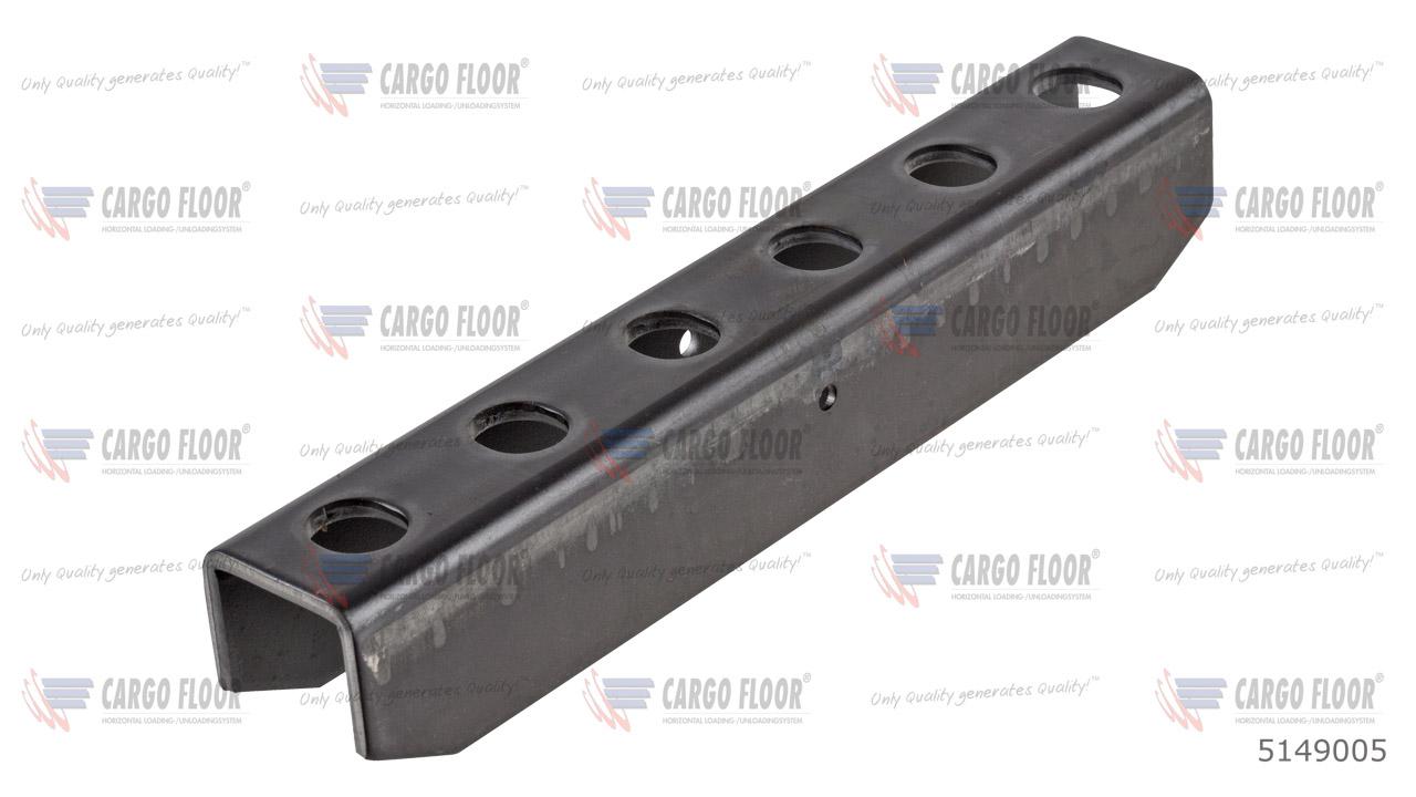 U-образный профиль для движущихся поперечин CF500 / CF100 (6x M12 / 240 мм) арт. CargoFloor 5149005