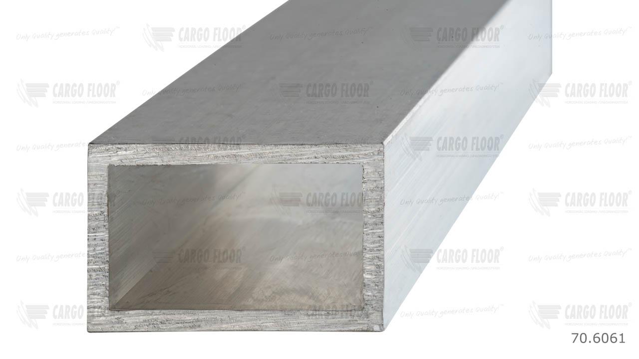 Алюминиевый коробчатый профиль (труба) 40x25x2 мм арт. CargoFloor 70.6061